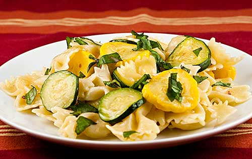 Pasta With Summer Squash