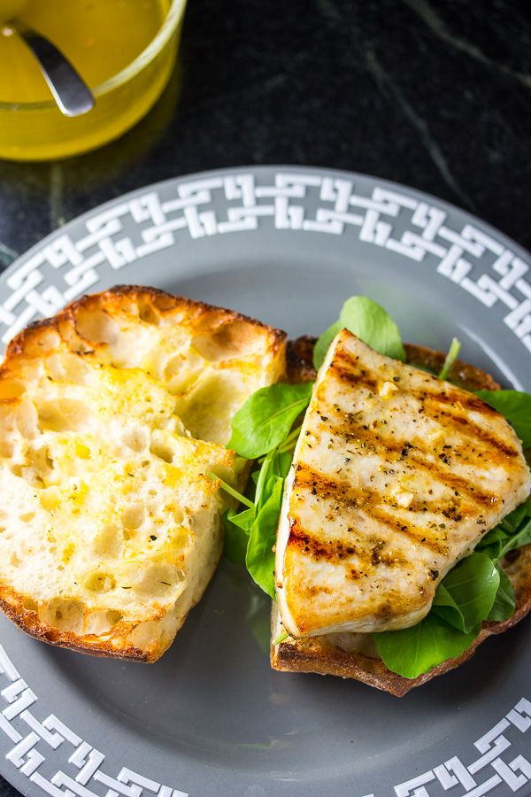 Swordfish Sandwich