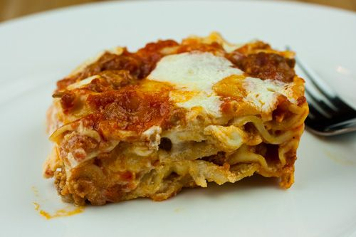 Tomato-Sausage Lasagna Recipes — Dishmaps