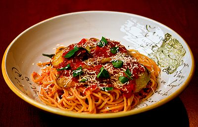 Sicilian-Style Pasta With Eggplant, Tomatoes, And Ricotta ...