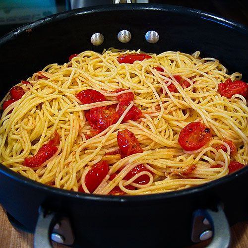 My Favorite Weeknight Pasta Dish