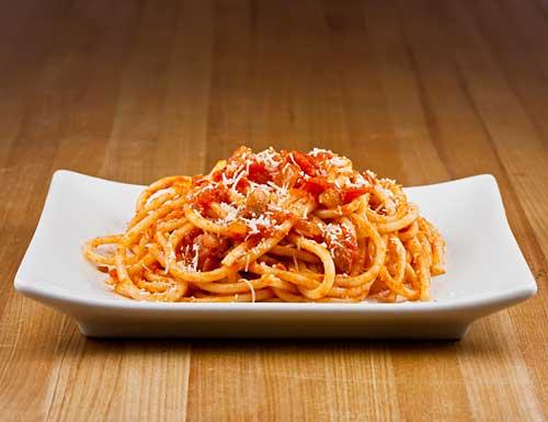 Bucatini all'Amatriciana - The Italian Chef