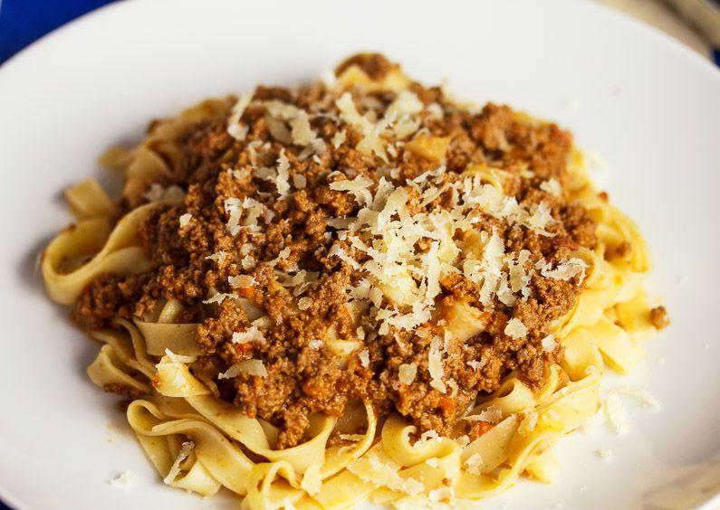 Bolognese Sauce (Ragu alla Bolognese) - The Italian Chef