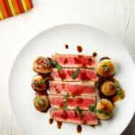 Seared Tuna With Sweet and Sour Cipollini