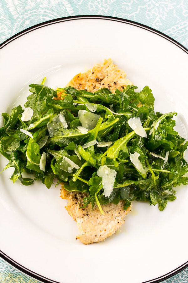 Chicken Paillard With Arugula Salad The Italian Chef
