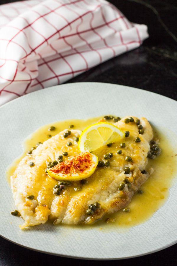 Sole Piccata - The Italian Chef